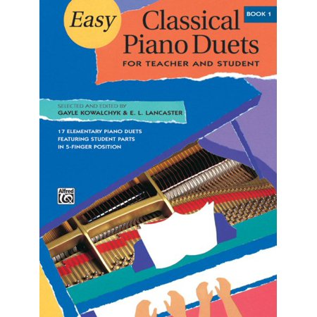 Classical Themes Easy Piano - Easy Classical Piano Duets for Teacher and Student, Book 1