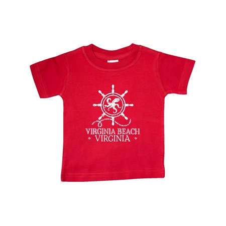Virginia Beach VA Nautical Baby T-Shirt for $<!---->