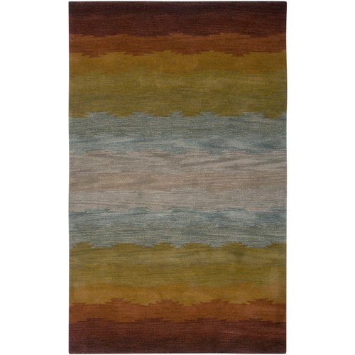 Rizzy Home CL2514 Colours Hand-Tufted New Zealand Wool Rug
