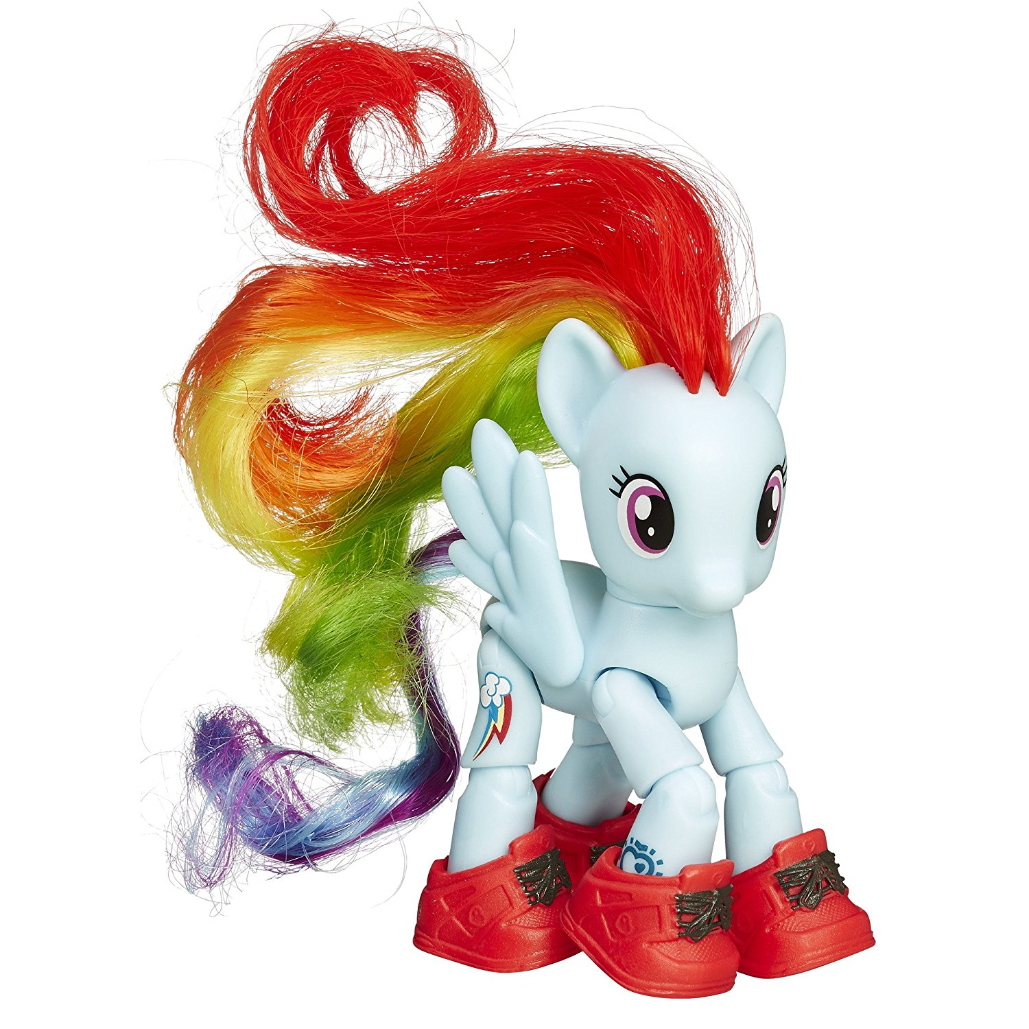 Friendship is Magic Rainbow Dash Sightseeing Figure..., By My Little Pony Ship from US