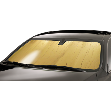 Intro-Tech Gold Custom Car Sunshade For 2017 Ford F-250 Super Duty King Ranch - Super Sun