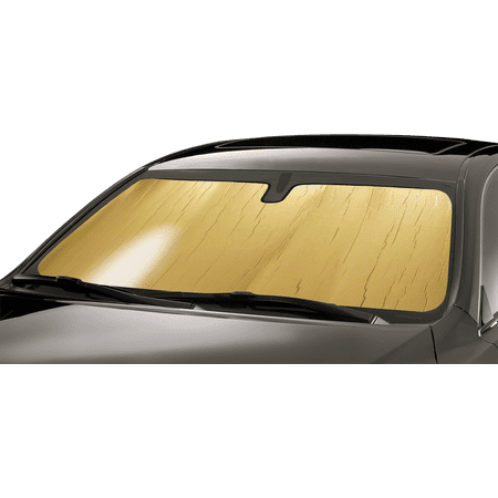 Intro-Tech Gold Custom Car Sunshade Windshield For 2002 - 2006 Acura RSX