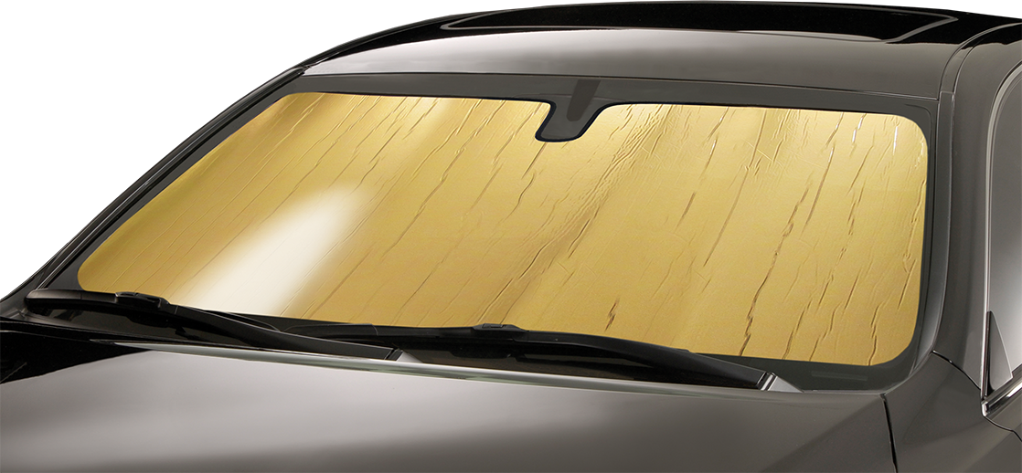 Intro-Tech FD-96 Custom Fit Windshield Sunshade for Select Ford F-150 Models Silver