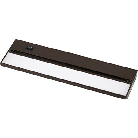 Under Cabinet LED 220 Lumen Light Hard Wire Linkable with Knock Outs Contractor Electrician Grade ETL -- L-6 Series
