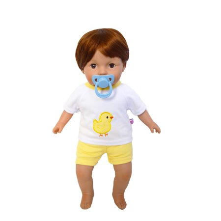 - My Brittany's Tiny Tots Baby Boy Doll with Pacifier