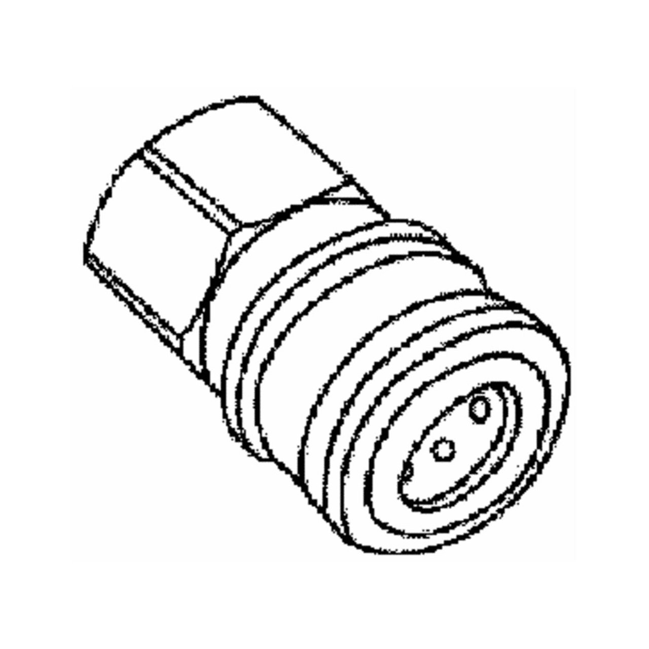 MI T M CORP AW-0017-0001 1/4 Fx1/4 FPT Socket