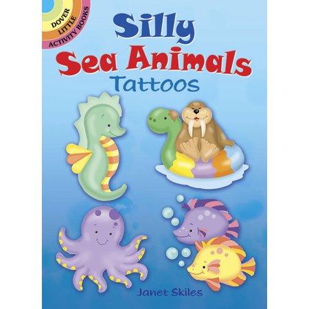 Silly Sea Animals Tattoos
