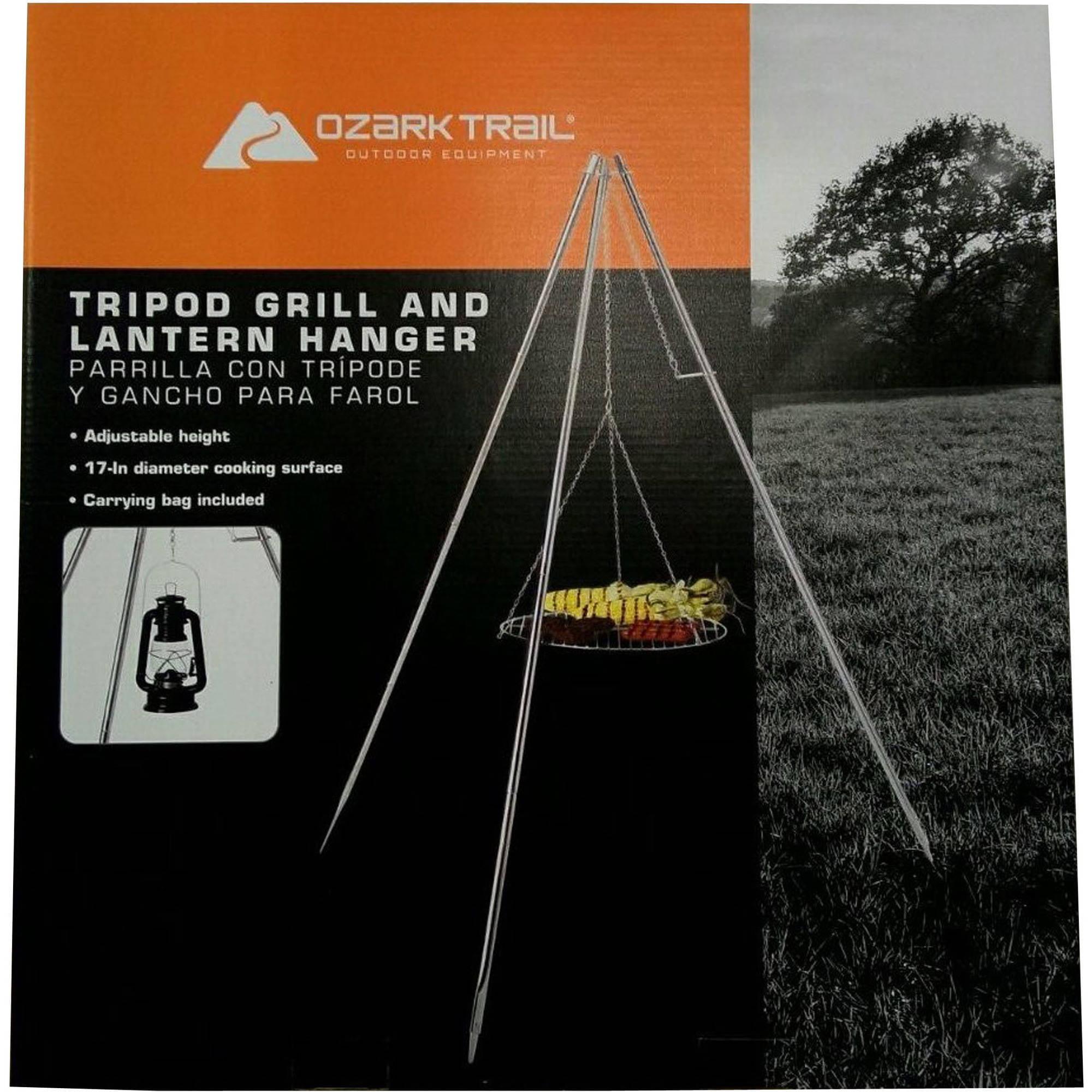 Tripod Grill with Lantern Hanger