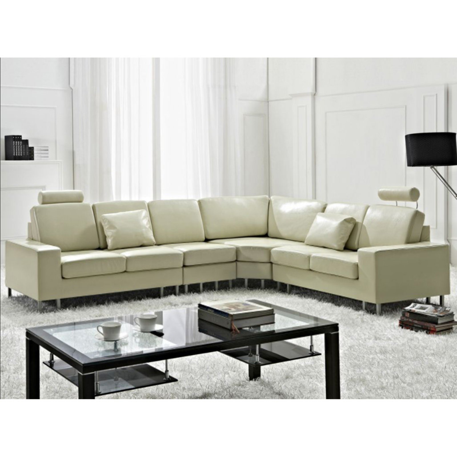 Velago Stockholm Fabric Sectional Sofa