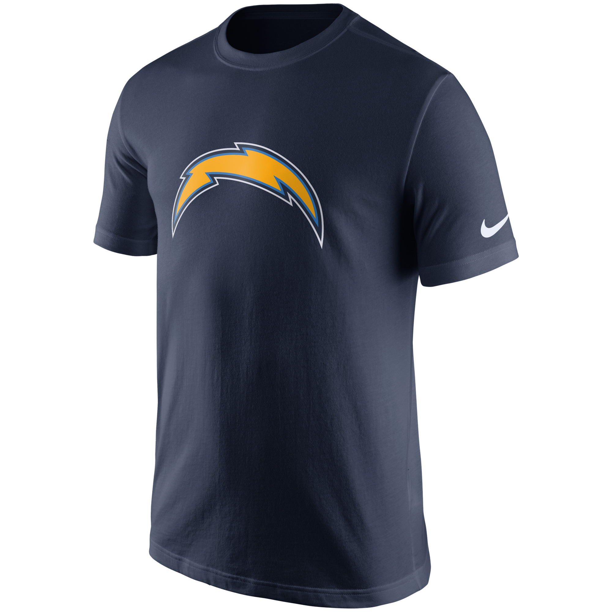 Los Angeles Chargers Nike Essential Logo T-Shirt - Navy