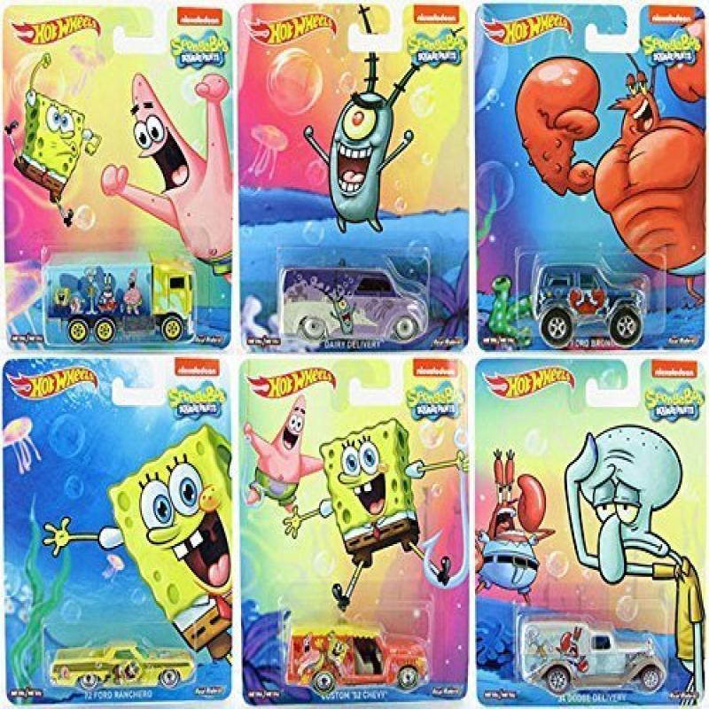 Mattel SpongeBob Square Pants Pop Culture set 2015 with M...