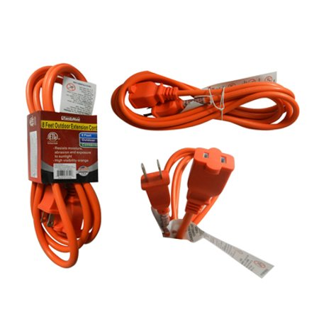 Family Maid EXT CORD 8FT OUTDOOR 2 PRONG Sold 24 Per ZACK