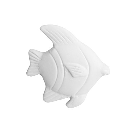 Ceramic bisque unpainted unfinished bi5233 Angel fish 2?