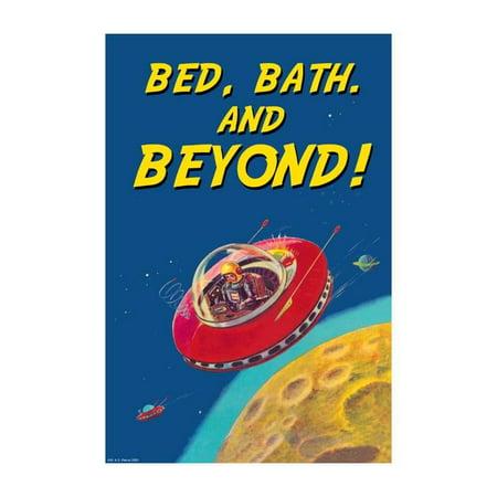 Bed Bath & Beyond Print (Unframed Paper Print 20x30) - Bed Bath And Beyond Halloween