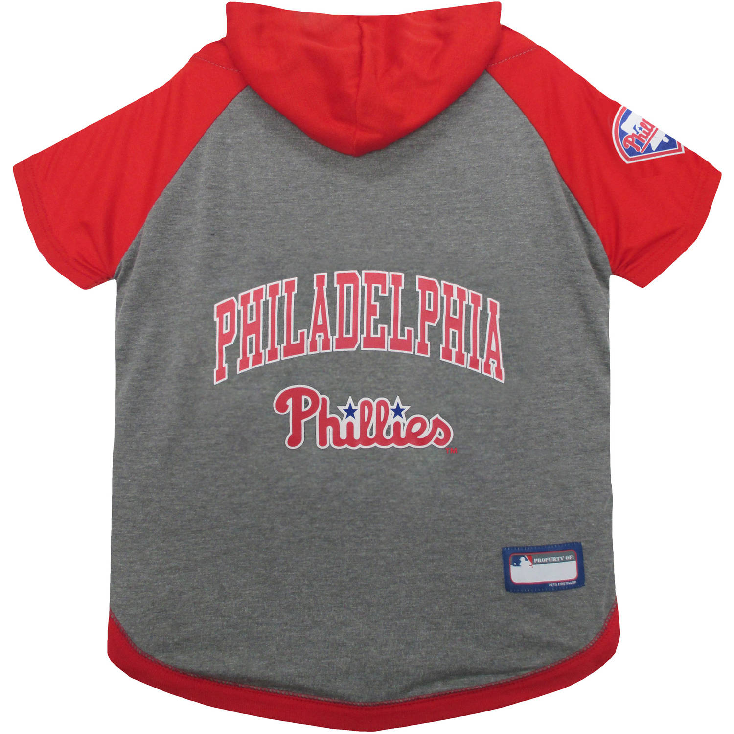 Pets First MLB Philadelphia Phillies Hoodie Tee Shirt