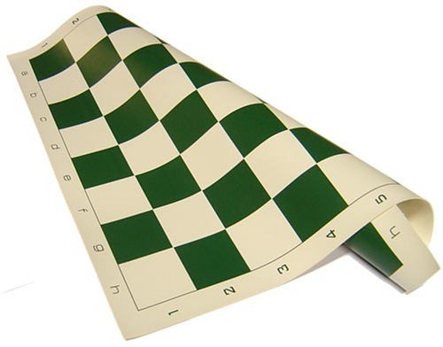 Chess Board Standard Vinyl Roll-up in Green by