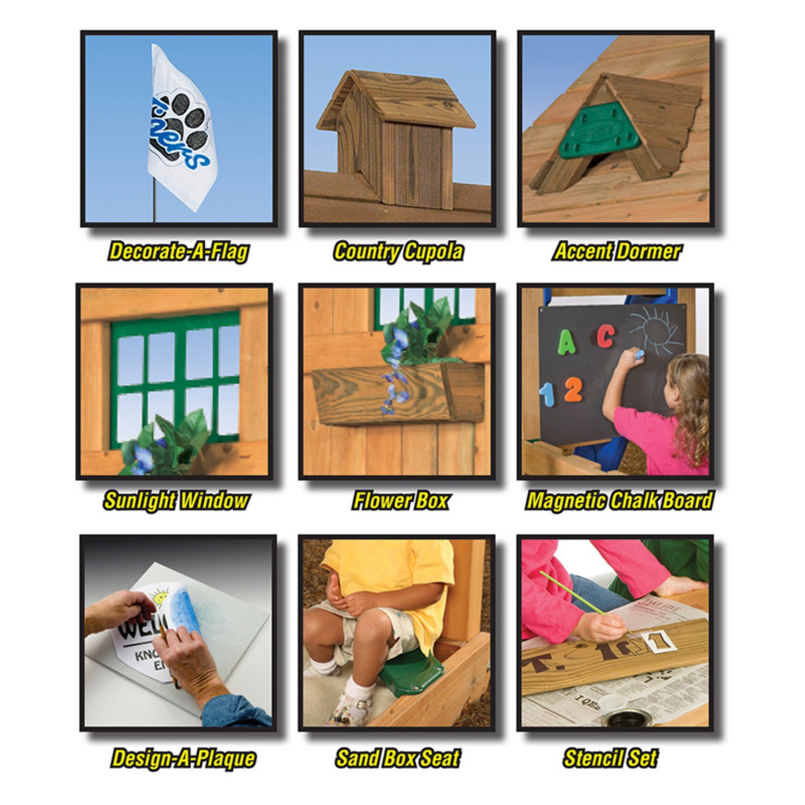 PlayStar Play Set Decorative Kit