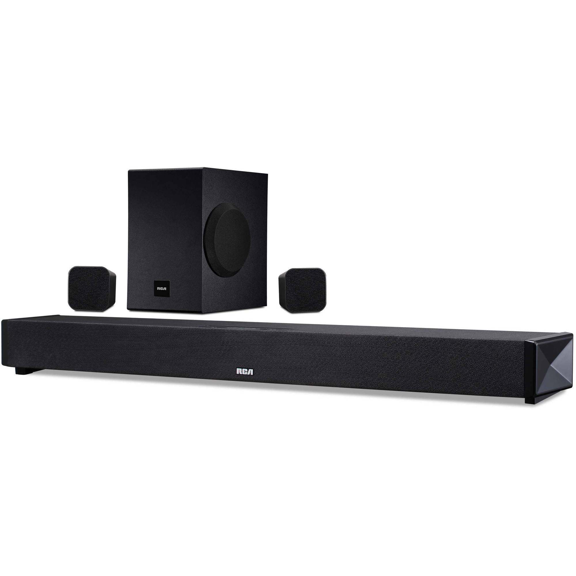 Rca 37 51ch Sound Bar 200w Bluetooth Whole Home Surround Wiring