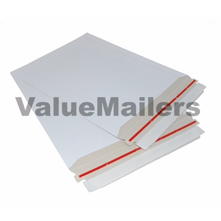 50 - 9x11.5 RIGID PHOTO MAILERS ENVELOPES STAY FLATS Caremail Rigid Photo Mailer