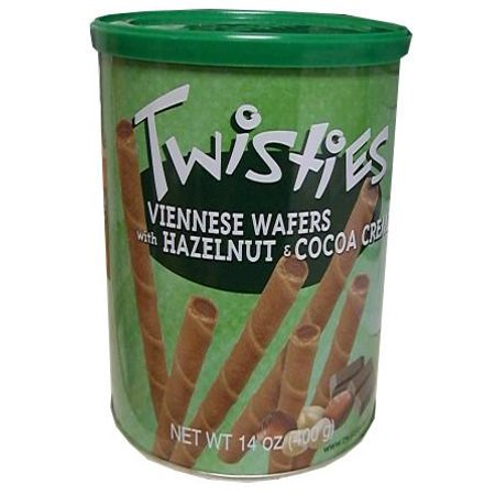 Anl Wafer - Twisties Wafer Rolls, Hazelnut and Cocoa, 400g