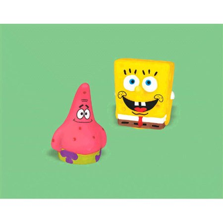 Spongebob Squarepants Finger Puppets / Favors (4ct) (Spongebob Squarepants Birthday Party Supplies)