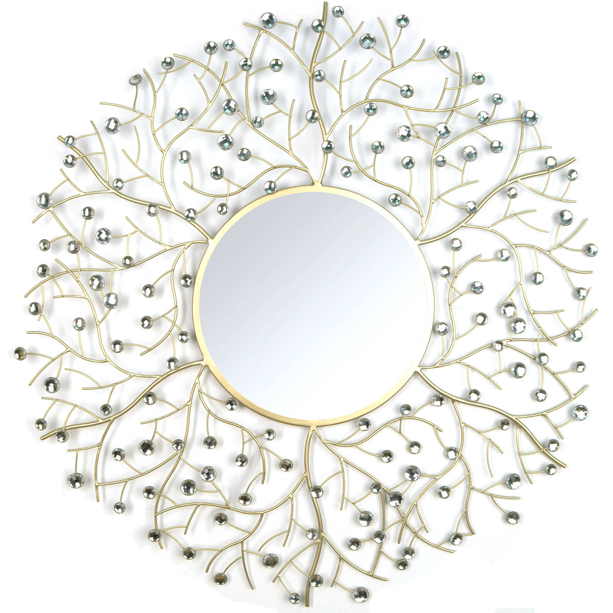 Stratton Home Decor Acrylic Eloise Wall Mirror SHD0162