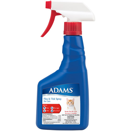 Adams Flea and Tick Mist Spray for Cats
