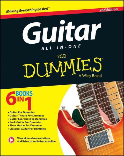 Guitar All-in-one for Dummies + Online Data by