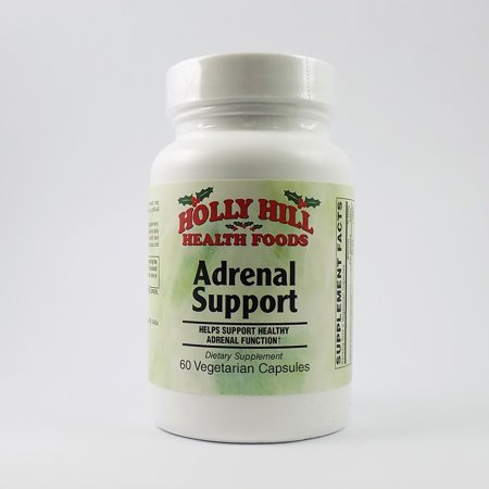 - Holly Hill Health Foods, Adrenal Support, 60 Vegetarian Capsules