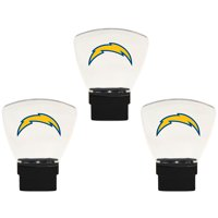Los Angeles Chargers 3-Pack Nightlight Bundle - Yellow - No Size