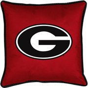 NCAA University of Georgia Sidelines Toss Pillow