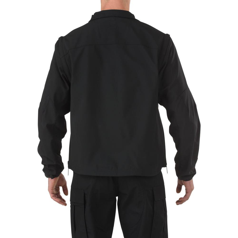 Valiant Softshell Jacket, Black by 5.11 Tactical