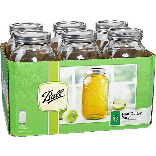 ball freezer jars. Ball 6-Count Wide Mouth 64-Ounce Jars With Lids And Bands Image 2 Freezer H