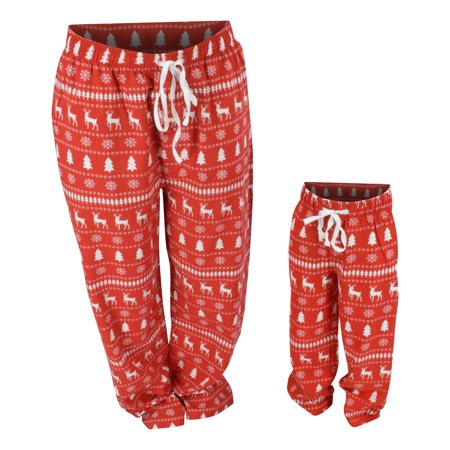 Boys Winter Print Matching Family Holiday Pajama Pants (2t) (Boys Holiday Pajamas)