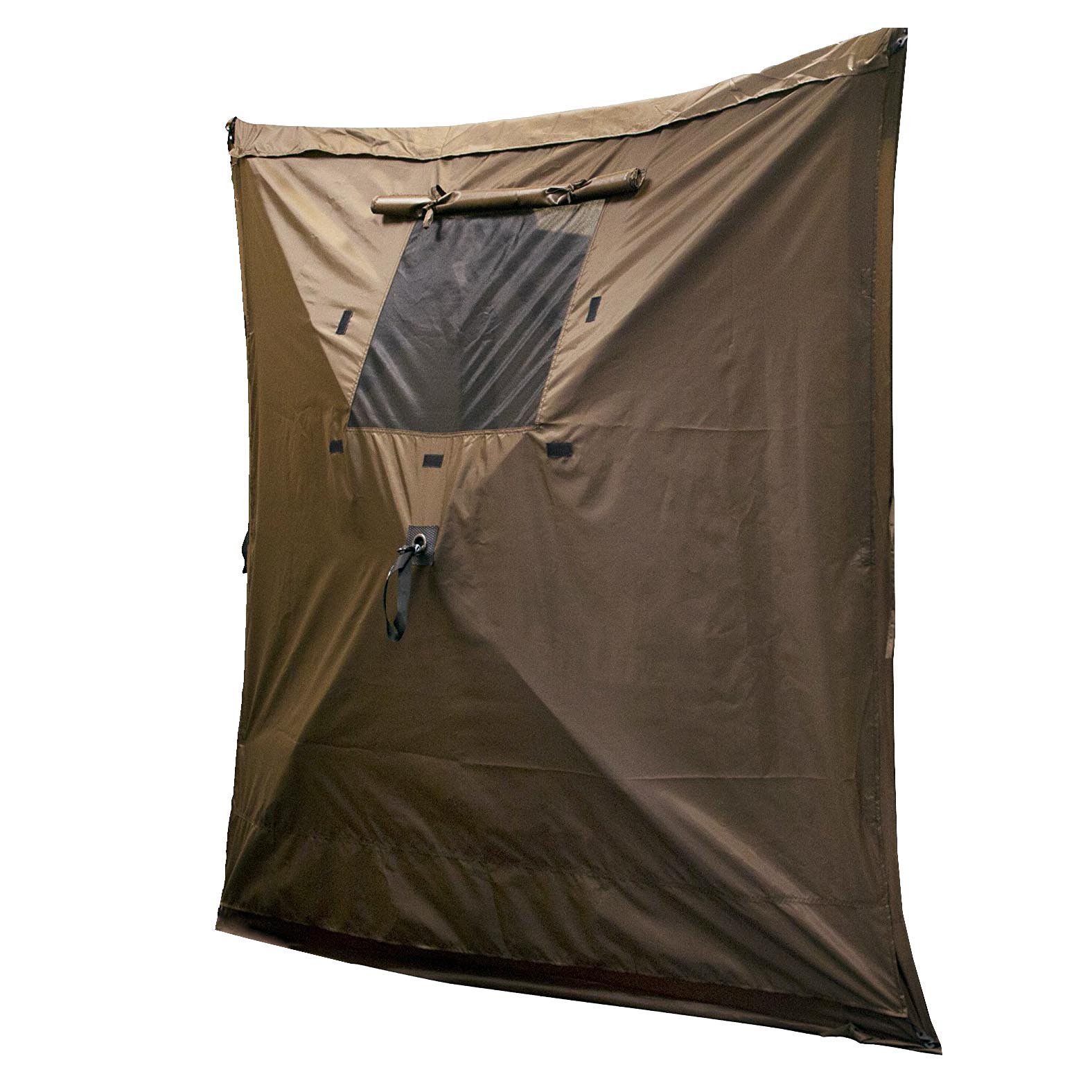 Clam Quick Set Screen Hub Brown Fabric Wind & Sun Panels Accessory Only (3 Pack)