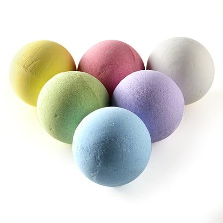 Set of 6 Bath Bombs Gift Set Handmade Spa Bath Bombs Kit Ultra Lush Spa Fizzies Best Gift Ideas Larger Size