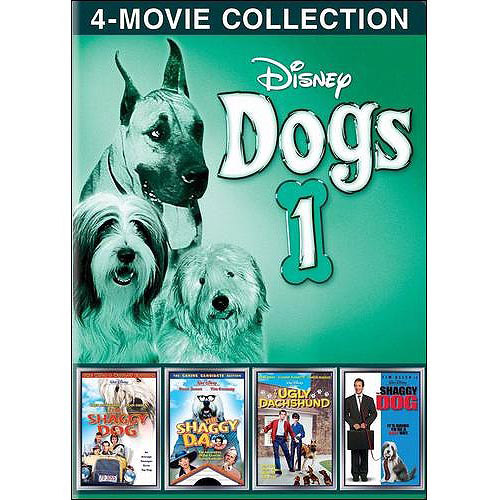 Disney Dogs, Volume 1: The Shaggy Dog (1959) / The Shaggy Dog (2006) / The Shaggy D.A. / The Ugly Dachshund