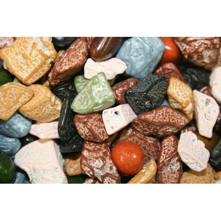 BAYSIDE CANDY CHOCOLATE ROCKS, 1LB (Rock & Candy)