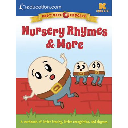 Nursery Rhymes & More : A Workbook of Letter Tracing, Letter Recognition, and Rhymes - Halloween Letter Recognition Games
