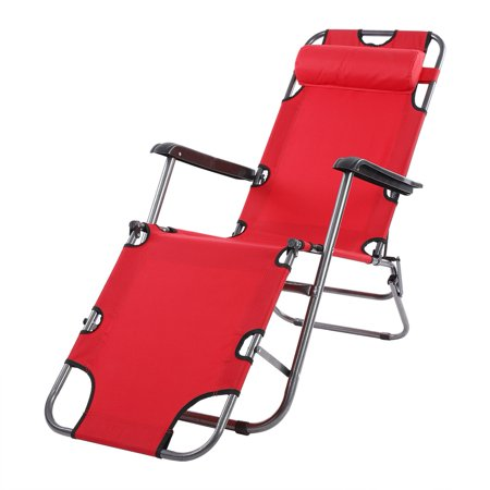 Fantastic Dilwe Portable Folding Camping Lounge Beach Garden Patio Recliner Reclining Chair With Armrest Folding Lounge Outdoor Folding Recliner Unemploymentrelief Wooden Chair Designs For Living Room Unemploymentrelieforg