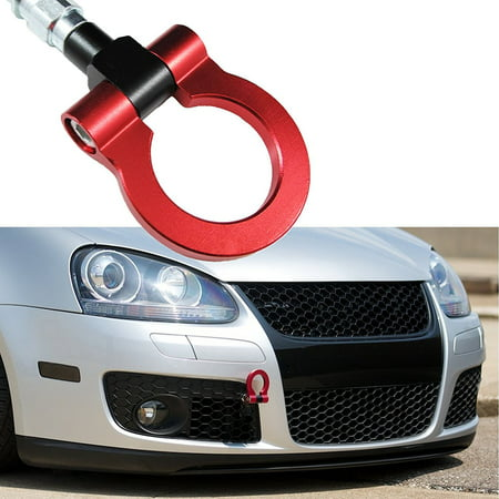 - Xotic Tech Sports Red Track Racing Style CNC Aluminum BUMPER Tow Hook For Volkswagen Jetta MK6 2011-2016