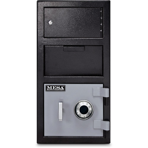 Mesa Safe MFL2014C-OLK Depository Safe 1.5 Cu Ft with Mechanical Lock, Exterior Locker