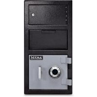 Mesa Safe MFL2014C-OLK Depository Safe 1.5 Cu Ft with Mechanical Lock, Exterior Locker
