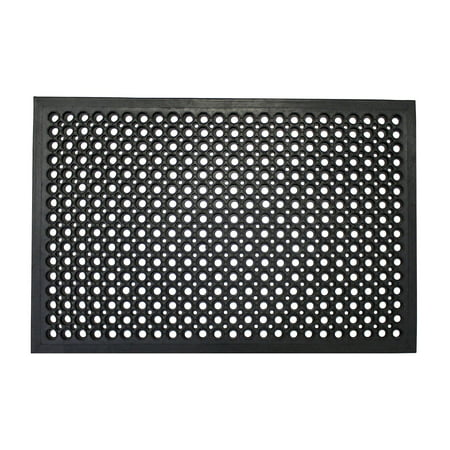 "Envelor Home and Garden 24"" x 36"" Anti Fatigue Mat Restaurant Kitchen Floor Mat Anti-Fatigue Bar Laundry Garage Drainage Rubber Floor Mat, Outside Door Mat, Indoor Outdoor Patio Wet Area Mat"