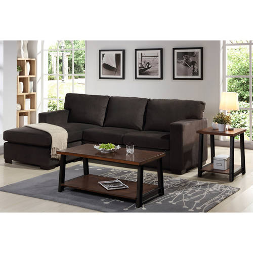 Better Homes and Gardens Oxford Square Reversible Sectional, Java