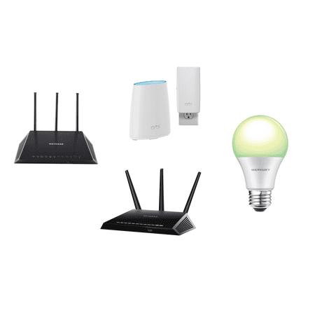 Buy a Netgear Router and Get a Free Merkury Color Smart Light (Netgear Bundle)