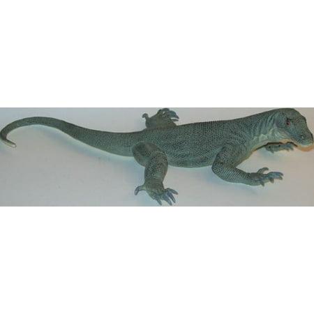 Large Komodo Dragon-Lifelike Rubber Replica 13 Inches