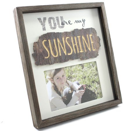 Fetco Home Decor Cleary You Are My Sunshine Picture Frame Walmartcom