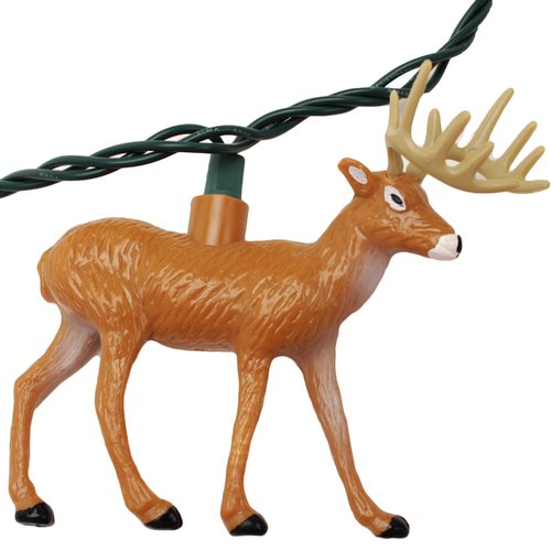 Rivers Edge Products Deer 10-Light Party Light Set by Rivers Edge Products
