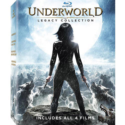 Underworld: The Legacy Collection 4-Pack - Underworld / Underworld: Evolution / Underworld: Rise Of The Lycans (Blu-ray) (Widescreen)